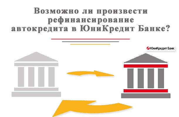 Рефинансирование автокредита в ЮниКредит Банк