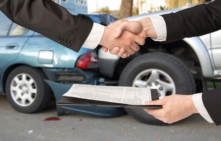 Машина в кредите попала в ДТП
