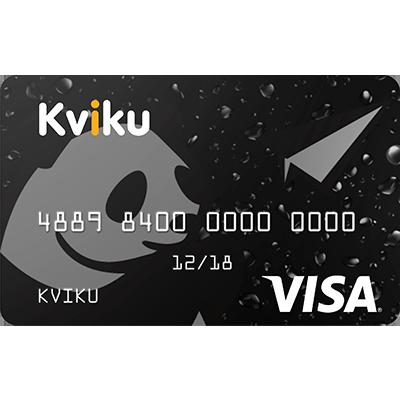 Kviku - виртуальная кредитная карта