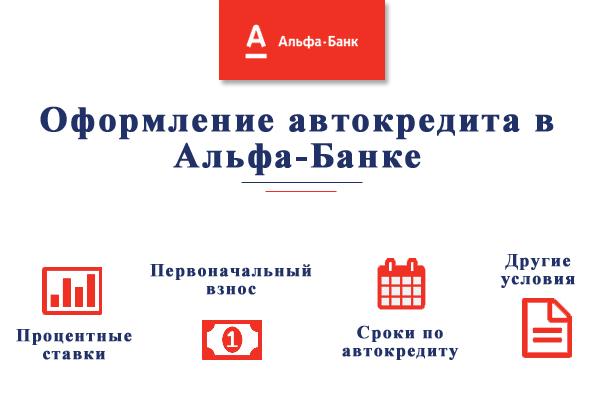 Автокредит в Альфа-Банке