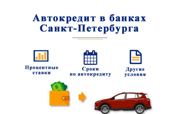 Автокредит в банках Санкт-Петербурга